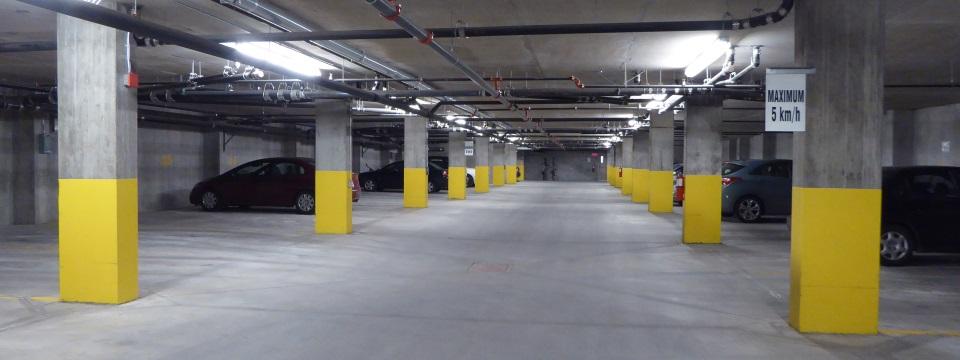 Ingenieur inspection facades et stationnement tag montreal for Alarme garage sous sol